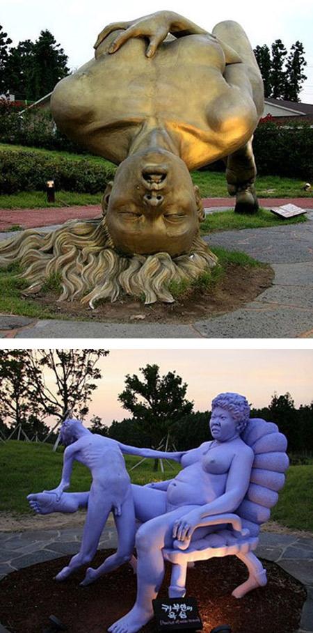 Erotische Skulpturen